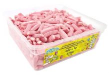 Candy Factory Strawberry Planks Tub Of 600
